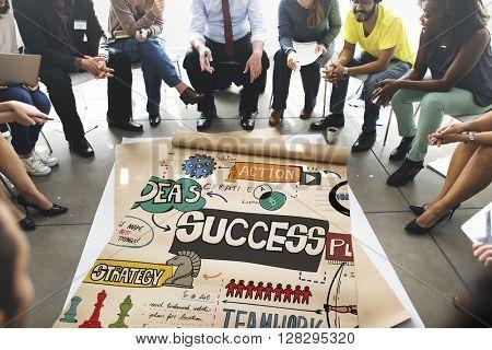 Success Goal Improvement Achievement Mission Concept