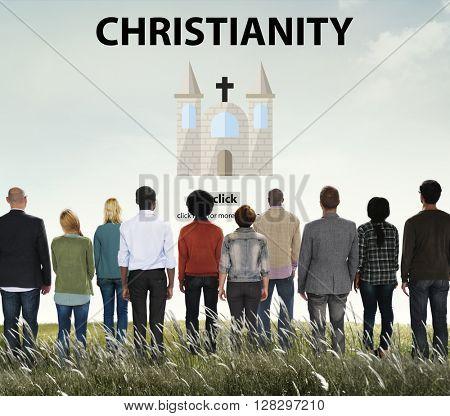 Christianity Holy Jesus Religion Spirituality Wisdom Concept