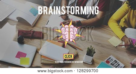 Brainstorming Thinking Discussion Strategy Concept