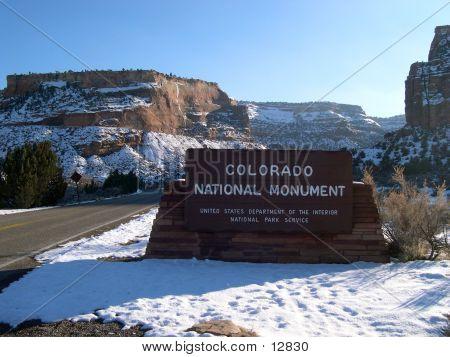 Colorado National Monument West Entrance