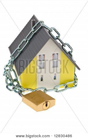 Detached with chain.