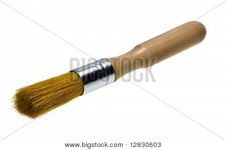 Brush With Wooden Handle