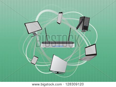 Modem Tech Device