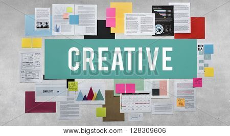 Creative Ideas Imagination Inspiration Solution Concept