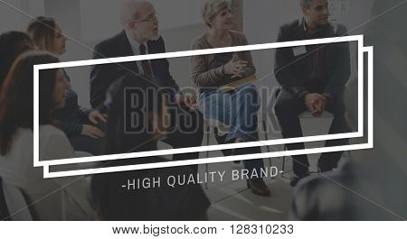 High Quality Brand Branding Commercial Copy Space Concept