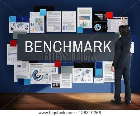 Benchmark Development Improvement Efficiency Concept