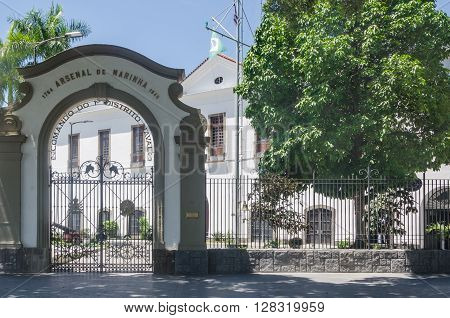 Rio De Janeiro, Brazil - March 06, 2016: In Front Of The Museum Of Tomorrow, In Rio De Janeiro, Hist