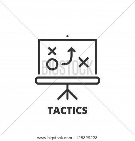 Line Icon. Tactics