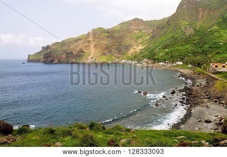 Rocky Beach Of Fajan D'agua