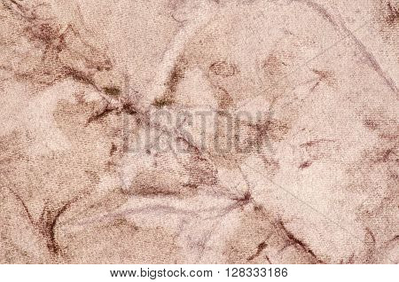 Brown background with stains - texture decorative colored paper