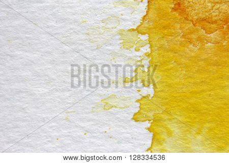 Yellow Watercolour Background 11