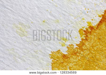 Yellow Watercolour Background 12