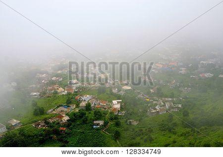 Heavy Clouds Fills The City Of Nova Sintra