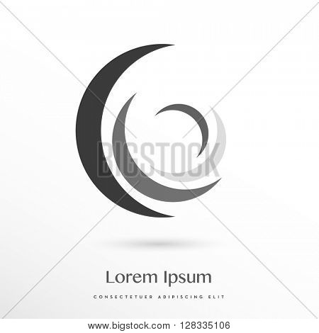 beautiful four element corporate logo / icon