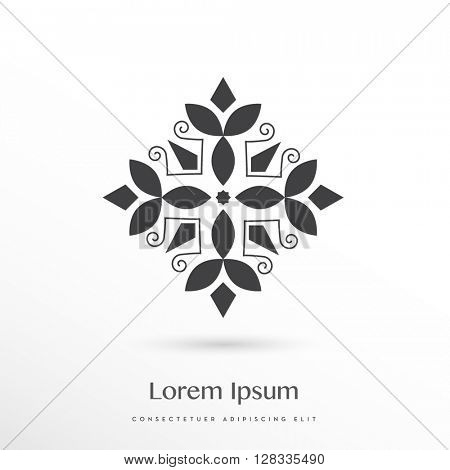 decorative vector logo / icon