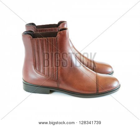 pair women's leather boots
