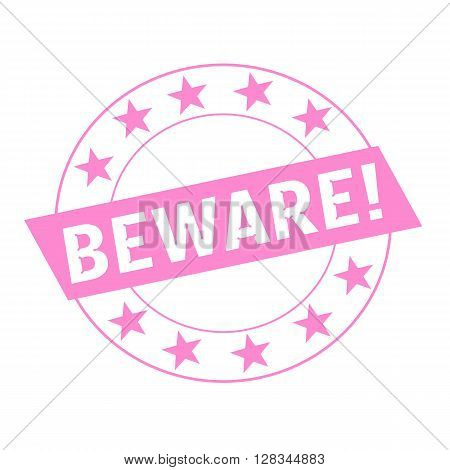 Beware white wording on pink Rectangle and Circle pink stars