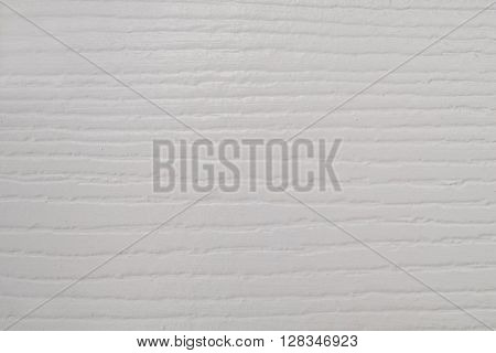 Extreme close-up, painted white wood grain texture