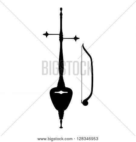 Rebab, musical instrument ( shade picture )