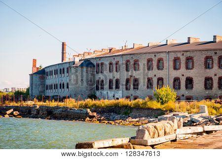 Old Prison In Tallinn, Estonia