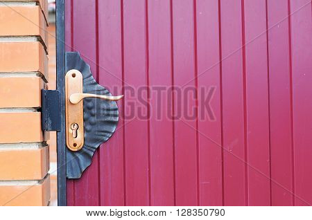 Outdoor Door Key