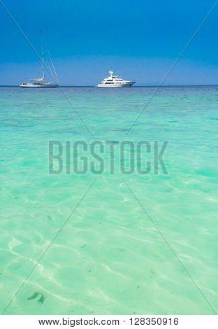 Vast Seascape Traveling Overseas