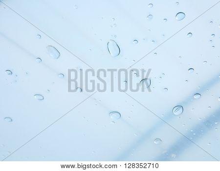 Water drops, close up