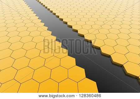Hexagonal cell texture. Speaker grille. Fashion geometric design. Graphic style for wallpaper wrapping fabric apparel print production.