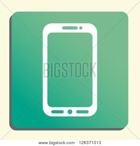 Cellphone Icon In Vector Format. Premium Quality Cellphone Symbol. Web Graphic Cellphone Sign On Gre