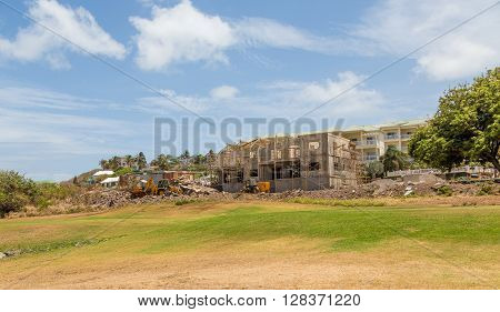 Hotel or Condo Construction on St Kitts