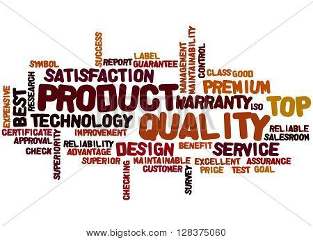 Product Quality, Word Cloud Concept 5