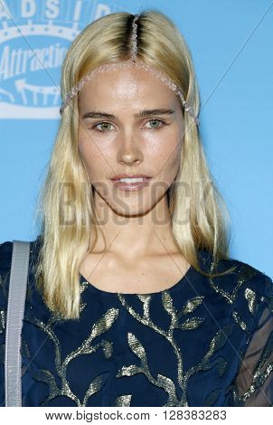 Isabel Lucas at the Los Angeles premiere of 'Love And Friendship' held at the DGA Theater in Hollywood, USA on May 3, 2016.