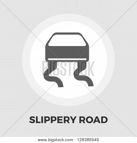 Slip-indicator icon vector. Flat icon isolated on the white background. Editable EPS file. Vector illustration.