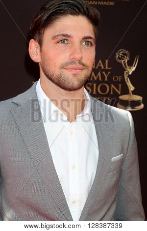 LOS ANGELES - MAY 1:  Robert Adamson at the 43rd Daytime Emmy Awards at the Westin Bonaventure Hotel  on May 1, 2016 in Los Angeles, CA