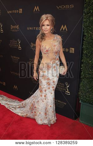 LOS ANGELES - MAY 1:  Tracey Bregman at the 43rd Daytime Emmy Awards at the Westin Bonaventure Hotel  on May 1, 2016 in Los Angeles, CA