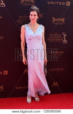 LOS ANGELES - MAY 1:  Stacy Haiduk at the 43rd Daytime Emmy Awards at the Westin Bonaventure Hotel  on May 1, 2016 in Los Angeles, CA