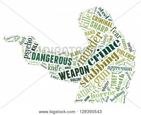 Gun Murder, Word Cloud Concept 2