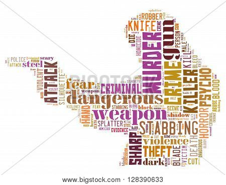 Gun Murder, Word Cloud Concept 5
