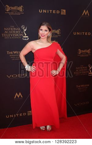 LOS ANGELES - MAY 1:  Gabriela Natale at the 43rd Daytime Emmy Awards at the Westin Bonaventure Hotel  on May 1, 2016 in Los Angeles, CA