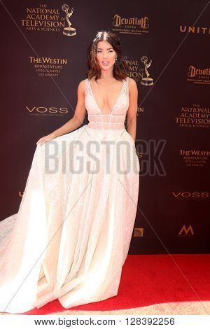 LOS ANGELES - MAY 1:  Jacqueline MacInnes Wood at the 43rd Daytime Emmy Awards at the Westin Bonaventure Hotel  on May 1, 2016 in Los Angeles, CA