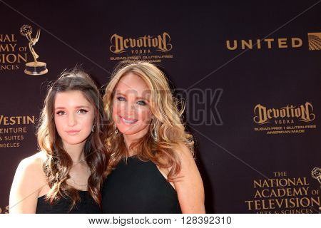 LOS ANGELES - MAY 1:  Daughter, Jennifer Berman at the 43rd Daytime Emmy Awards at the Westin Bonaventure Hotel  on May 1, 2016 in Los Angeles, CA