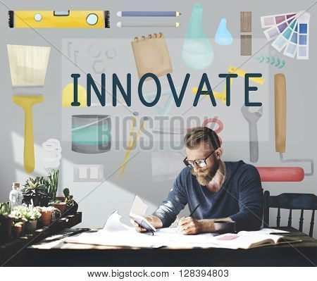 Innovate Aspiration Development Ideas Vision Concept