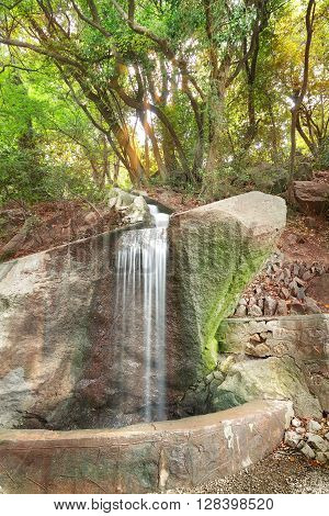 waterfall Vorontsov summer hottest time of the day Crimea