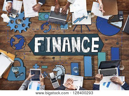 Finance Economy Profit Banking Budget Revenue Concept