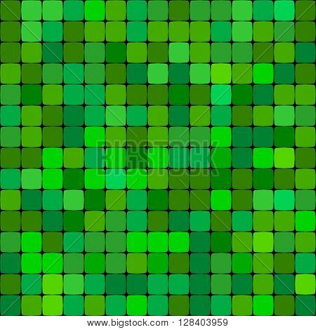 green abstract vector background