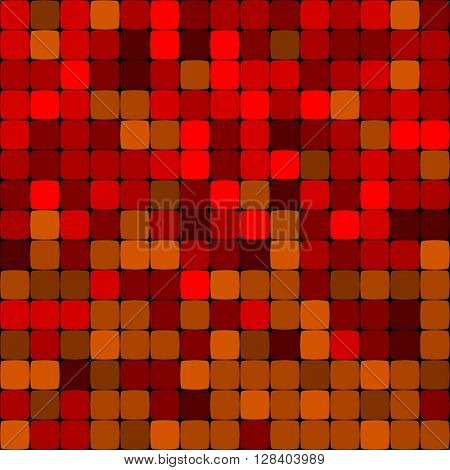 red abstract vector background