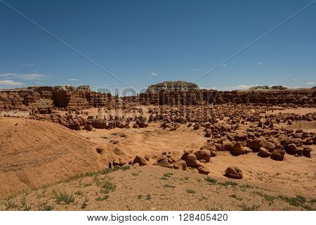 Goblin Valley State Park in Utah USA