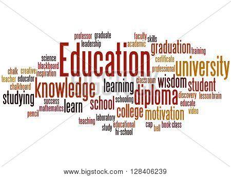 Education, Word Cloud Concept 7