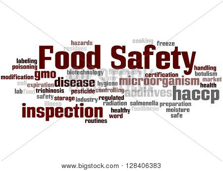 Food Safety, Word Cloud Concept 4