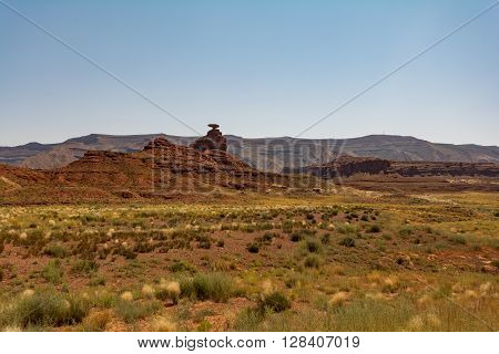Mexican Hat, Utah, Usa